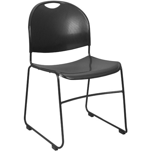Stacking Chairs advantage black plastic stack chair - black frame [adv-hdstk-blk] LLNYJBR